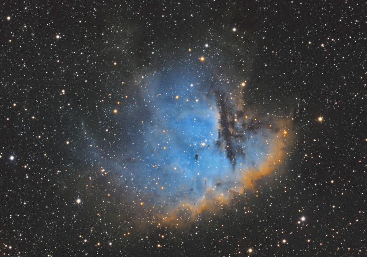 NGC 281 pacman nebula SHO