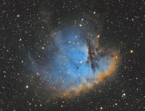 NGC 281 Pacman Nebula in Hubble Palette SHO
