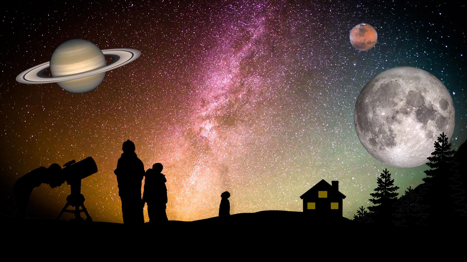 night sky 2020