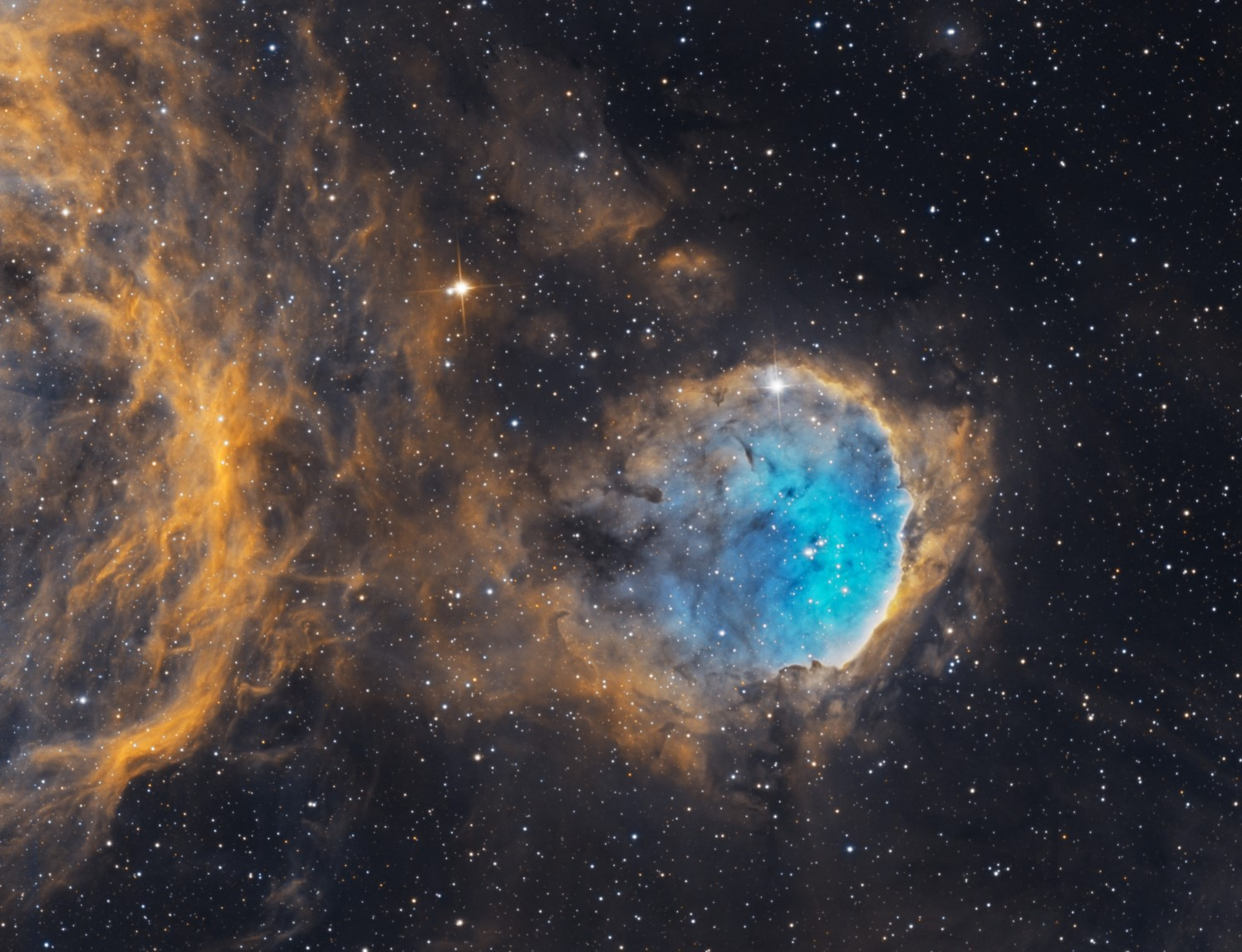 NGC 3324 Meet NGC 3324 and IC2599 The Gabriela Mistral Nebula