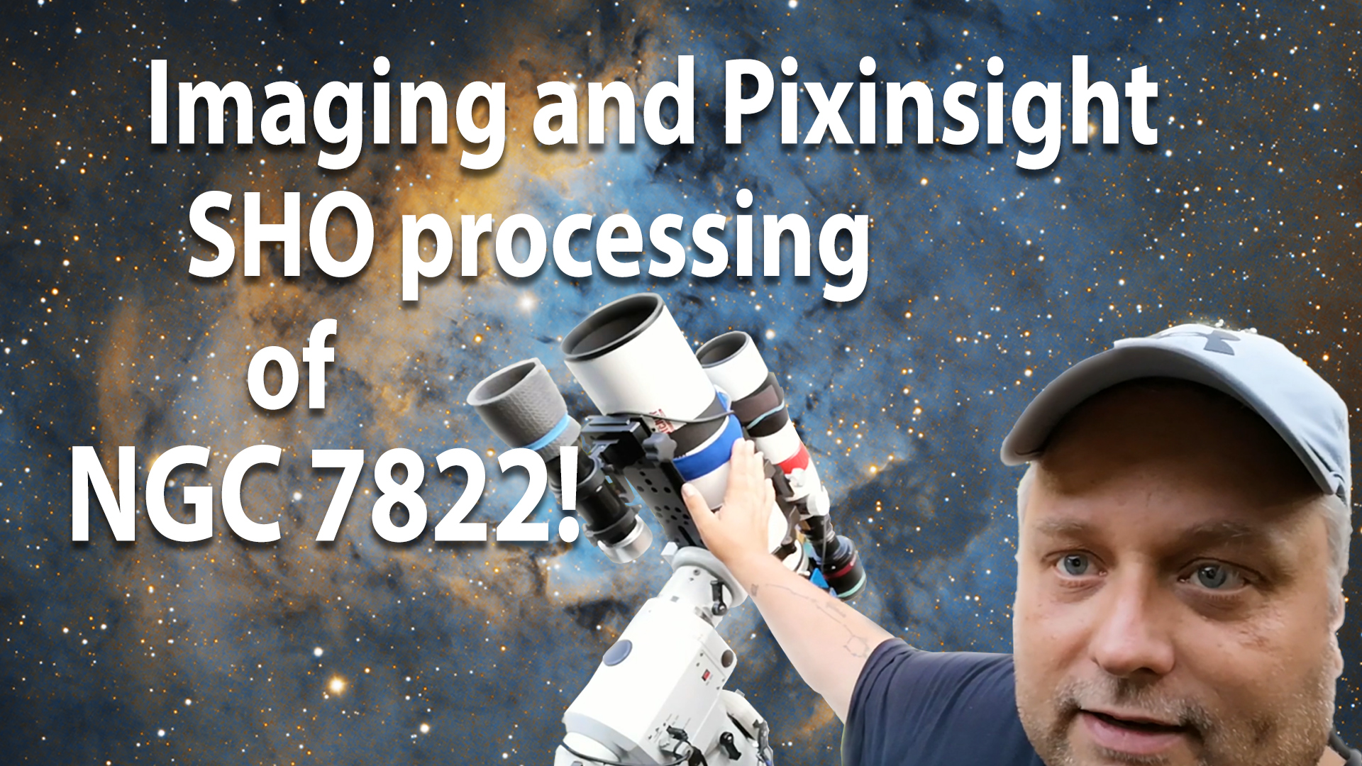 Pixinsight SHO processing
